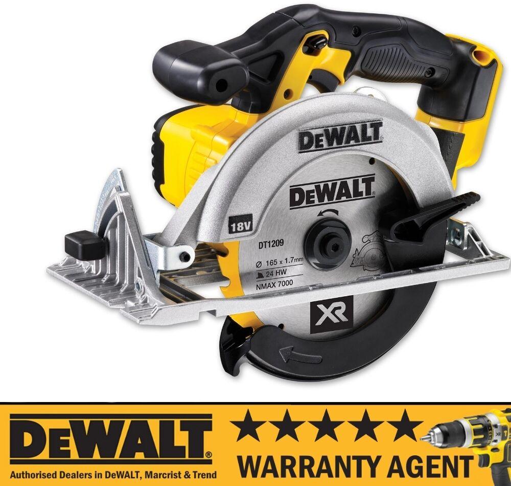 DeWALT DCS391N 18V XR 165MM Cordless Circular Saw BARE