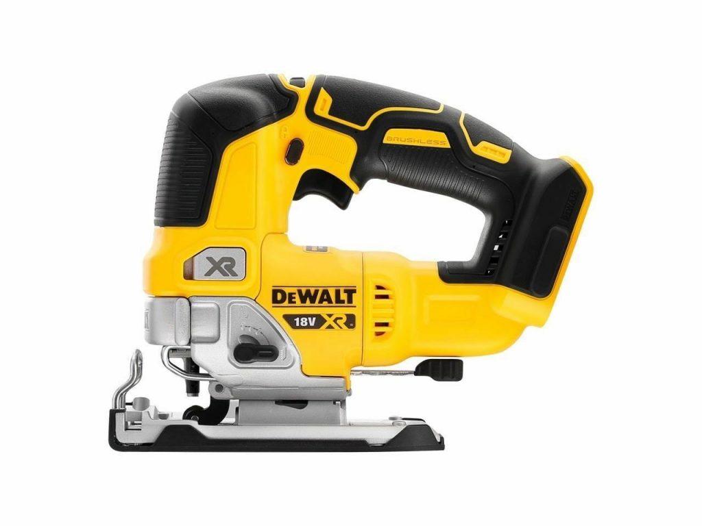 Toolstop Dewalt DCS334N 18V XR Brushless Top Handle Jigsaw